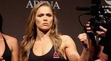 UFC bantamweight champion Ronda Rousey of the United