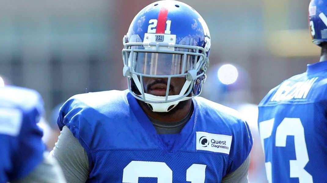 New York Giants safety Landon Collins is seen