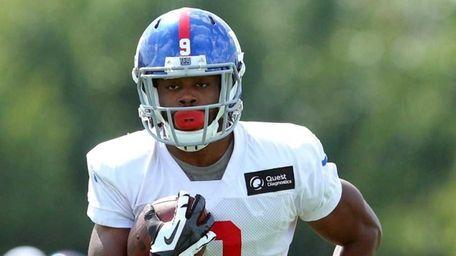 New York Giants wide receiver Geremy Davis #9