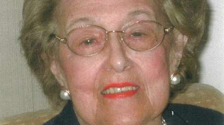 Fran Udell, 94, seen in an undated photo,