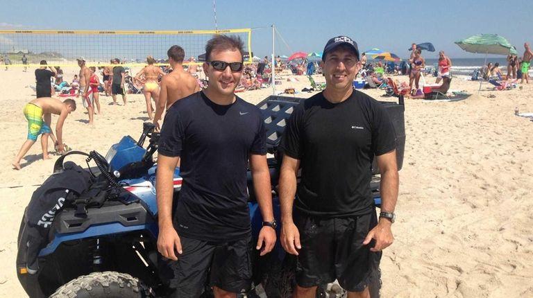 Suffolk County Police Marine Bueau Officers Anthony Sangimino