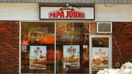 Papa John's Pizza in Huntington Station. (Dec. 23,