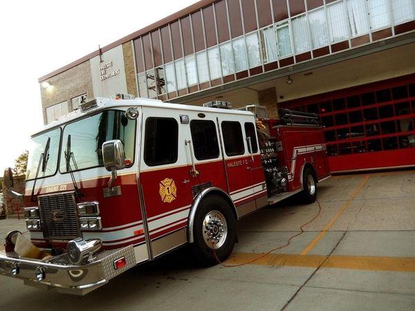 Halesite Fire Department in Halesite. (June 27, 2015)