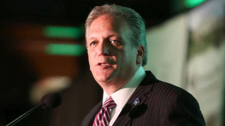 Nassau County Executive Edward Mangano in Woodbury on