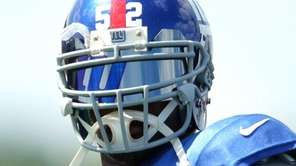 New York Giants linebacker Jon Beason #52 during