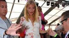 Gwyneth Paltrow attends the Sunset Party for the