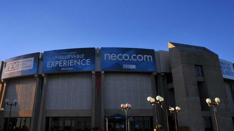 The Nassau Coliseum on Friday, July 31, 2015.