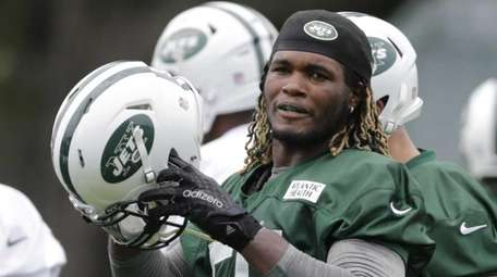New York Jets outside linebacker Lorenzo Mauldin (55)
