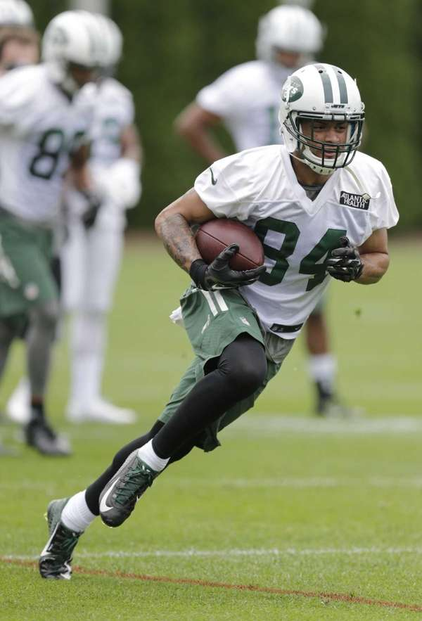 New York Jets wide receiver Devin Smith (84)