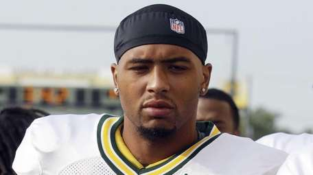 The Green Bay Packers' Andrew Quarless is shown