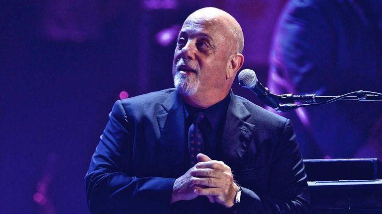 Billy Joel, seen in an undated photo, will