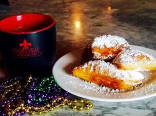 Storyville American Kitchen in Huntington offers beignets and