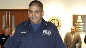Nassau Police officer Jeffrey Shaikh who assisted in