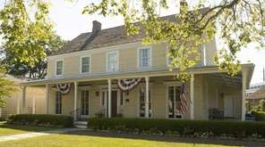 Babylon Village's historic Conklin House, located at 280