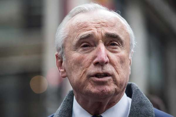 New York City Police Department Commissioner Bill Bratton