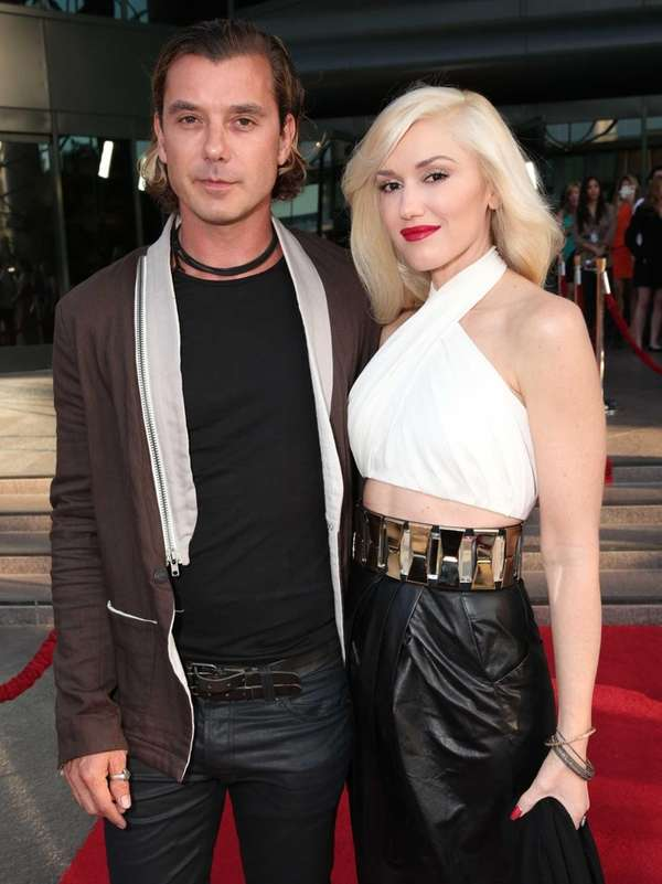 Musicians Gavin Rossdale and Gwen Stefani filed for