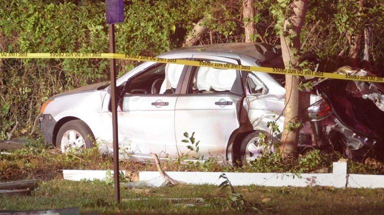 A West Babylon man, 24, was critically injured