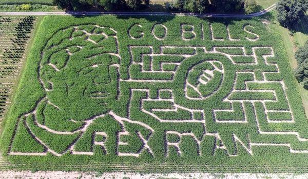 A farm family has welcomed Buffalo Bills head