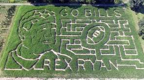 A farm family has welcomed Buffalo Bills head