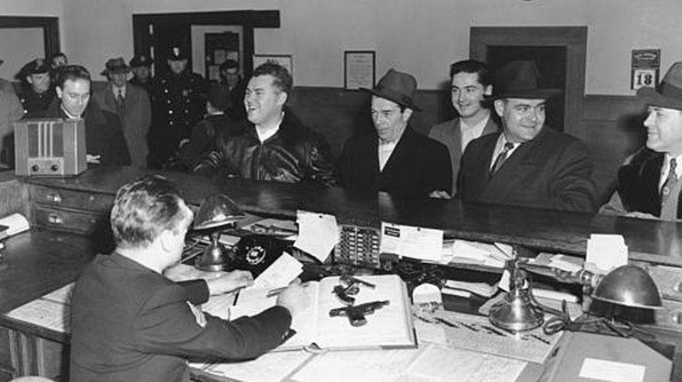 In 1952, Donald P. Shea, of Baldwin, helped
