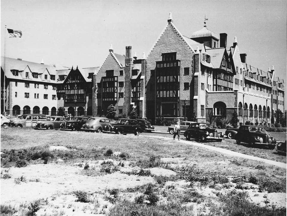 The Montauk Manor hotel in 1946.