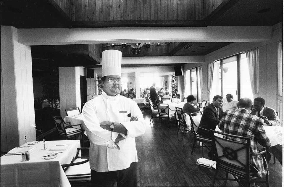 Montauk Yacht Club head chef Mitchel London in