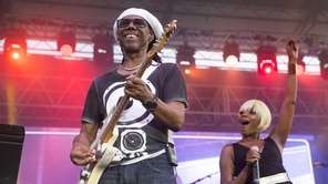 Nile Rodgers and Chic take the stage at