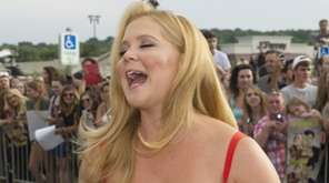Actress Amy Schumer on Friday, July 10, 2015,