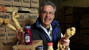 Marc Gold, owner of Gold Pure Food Products,