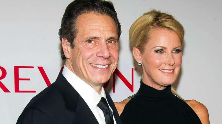 Gov. Andrew M. Cuomo and Sandra Lee on