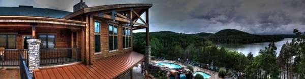 Relax at the lodge at Stonewater Cove resort