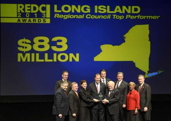 Members of the Long Island Regional Council receive