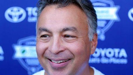 New York Giants quarterbacks coach Mike Sullivan speaks