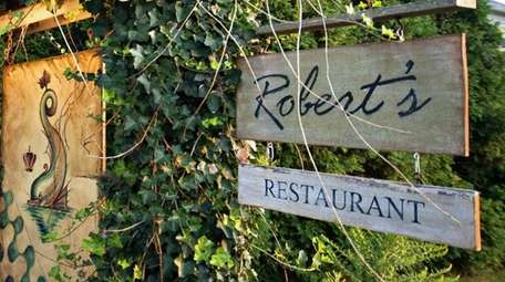 Robert's, an Italian restaurant in Water Mill, has