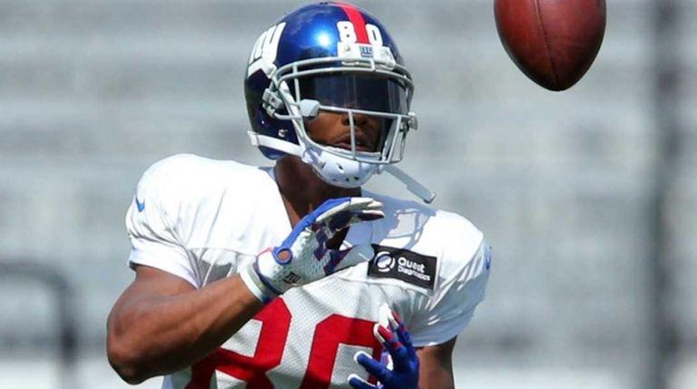 New York Giants wide receiver Victor Cruz #80