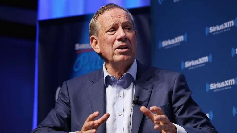 Republican presidential candidate George Pataki lobbed criticism at