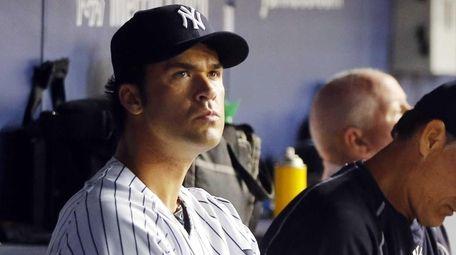 Garrett Jones #33 of the New York Yankees