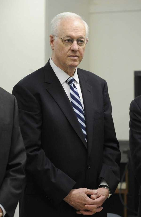 Former New York State Comptroller Alan Hevesi, seen