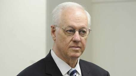 Former New York State Comptroller Alan Hevesi, seen