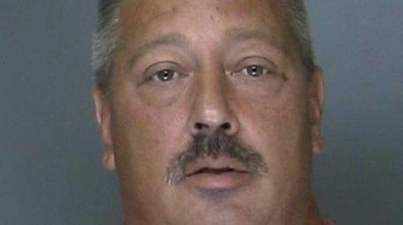 Joseph DiSclafani, 48, of Centereach, was arrested on