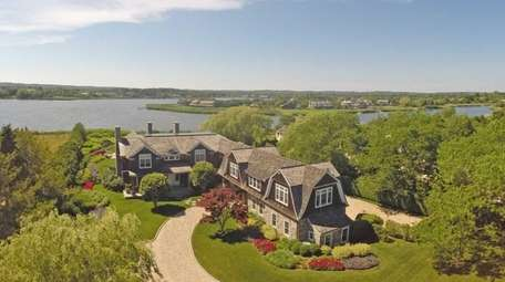 Called Halcyon Cove, this 2.7-acre estate on Mecox