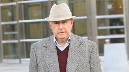 Warren Annunziata outside court in Brooklyn on Thursday,