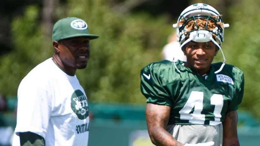 New York Jets defensive back Buster Skrine (41)