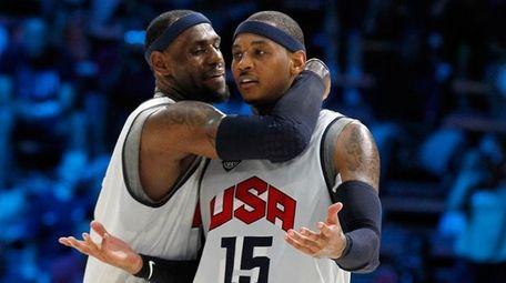 U.S. men's Olympic basketball team guard Chris Paul