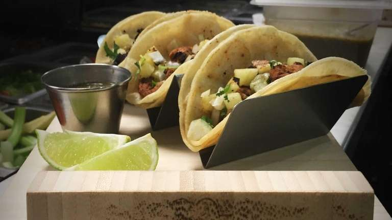 Tacos are a specialty at Mesita, a new