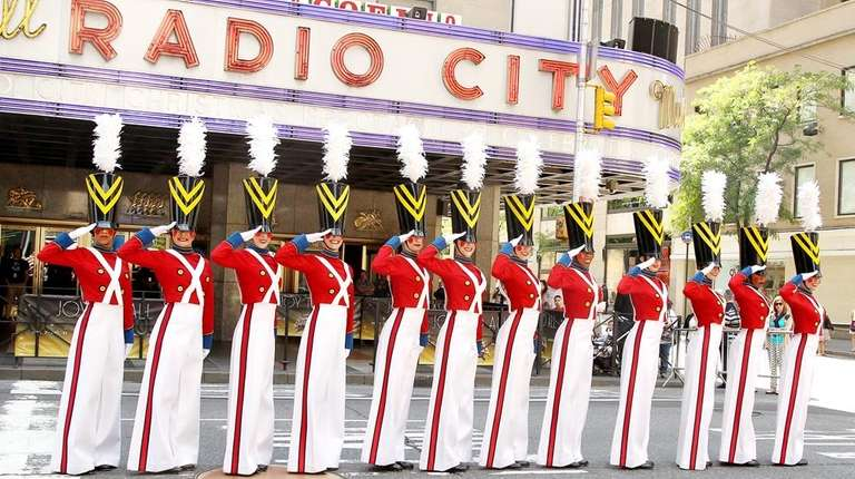 The Radio City Christmas Spectacular is kicking off