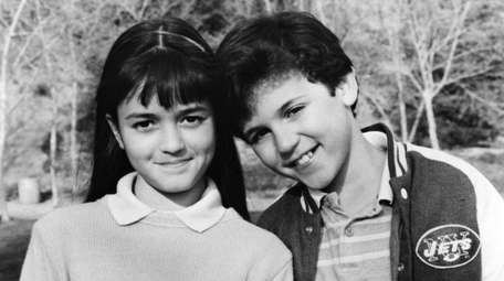 Danica McKellar and Fred Savage in