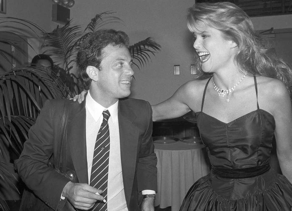 Aug. 25, 1994: Joel and Christie Brinkley, his