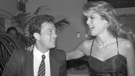Aug. 25, 1994: Joel and Christie Brinkley, his