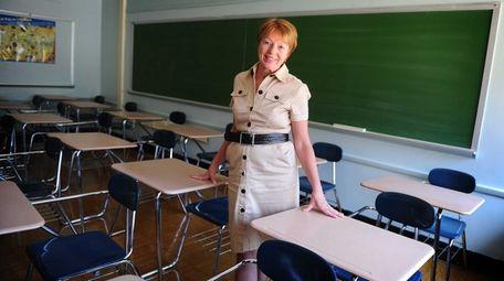 Portrait of Carol Burris, then the principal of